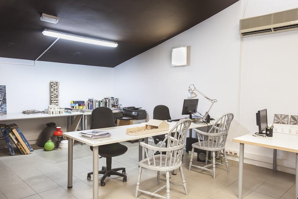 Zona coworking Wayco ático