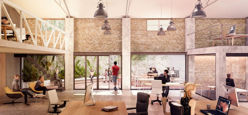Arquitectura y coworking. Wayco Ruzafa