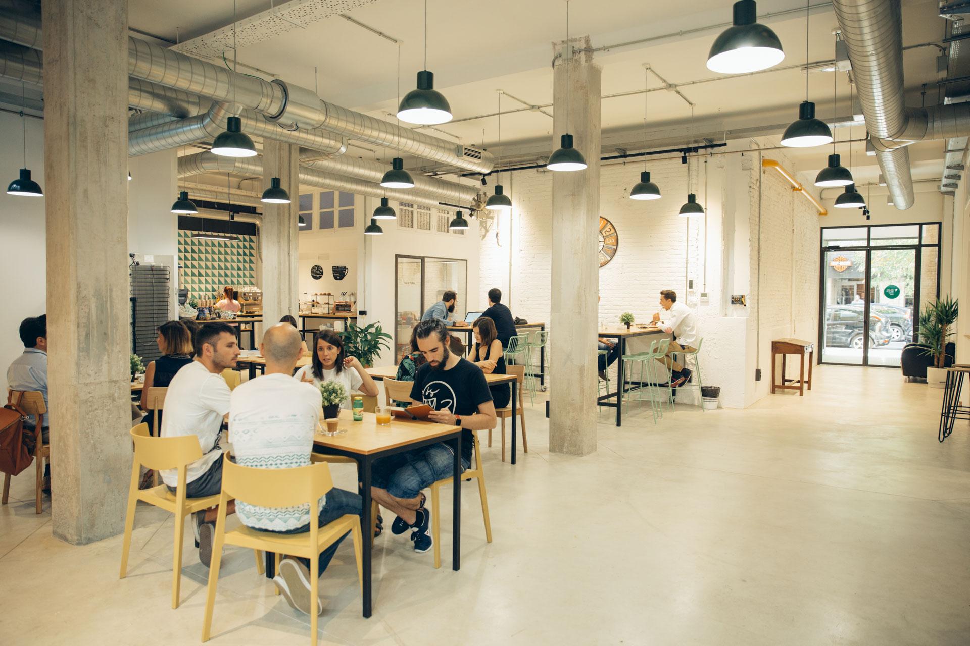 Cafetería Coworking Valencia
